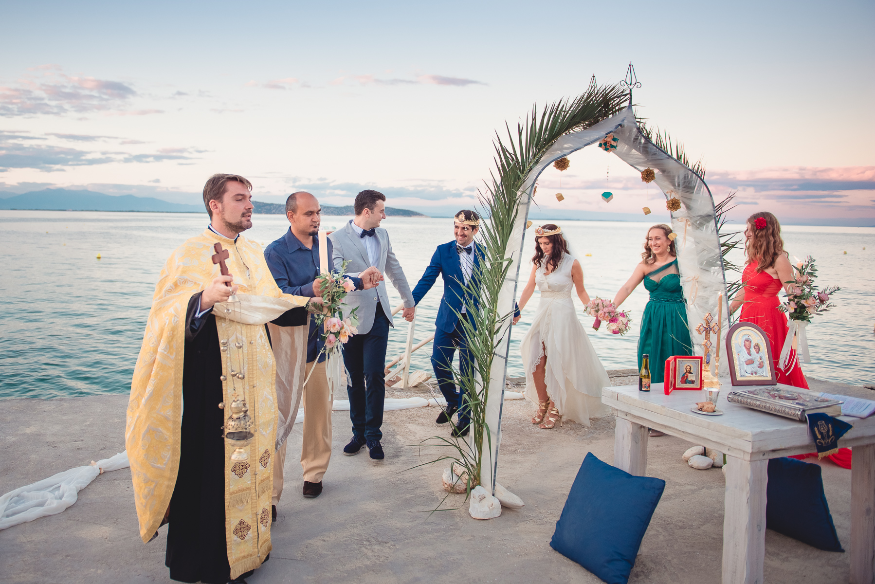 Wedding photographer greece beach wedding thassos for What to know about destination weddings