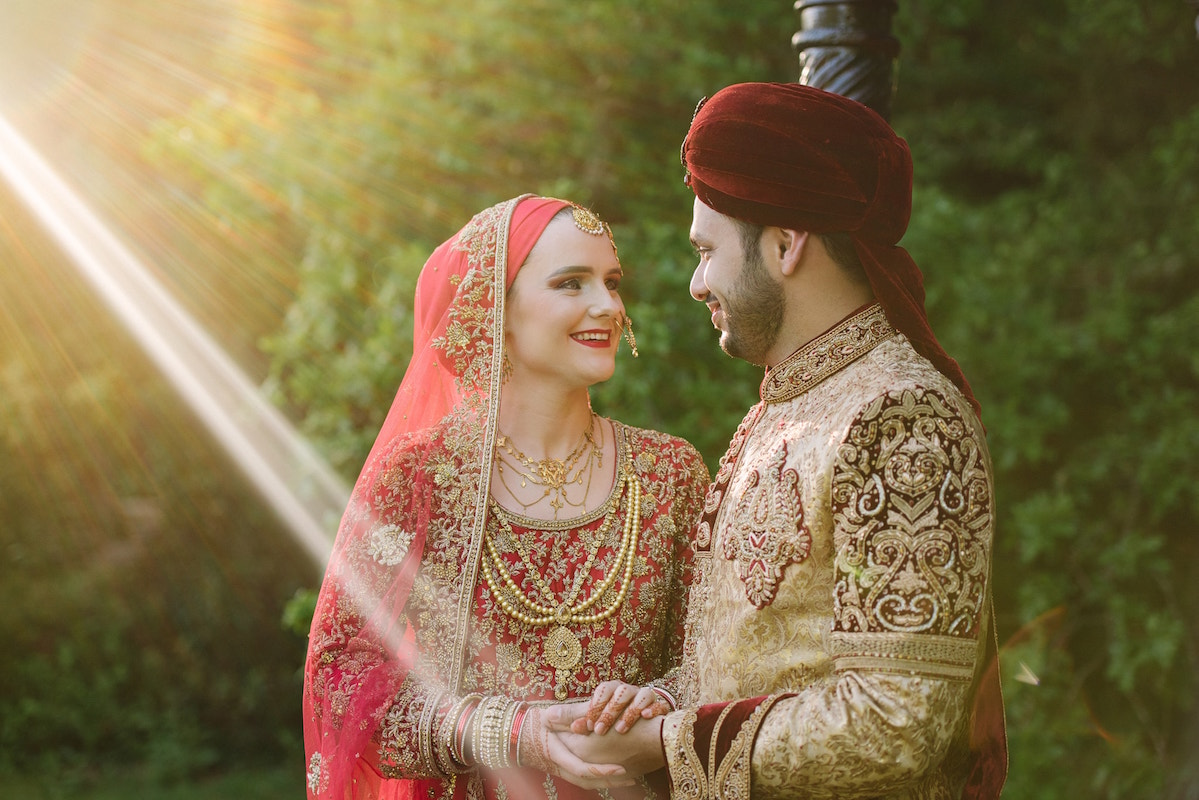 Asian Muslim wedding photography at Tournerbury Woods
