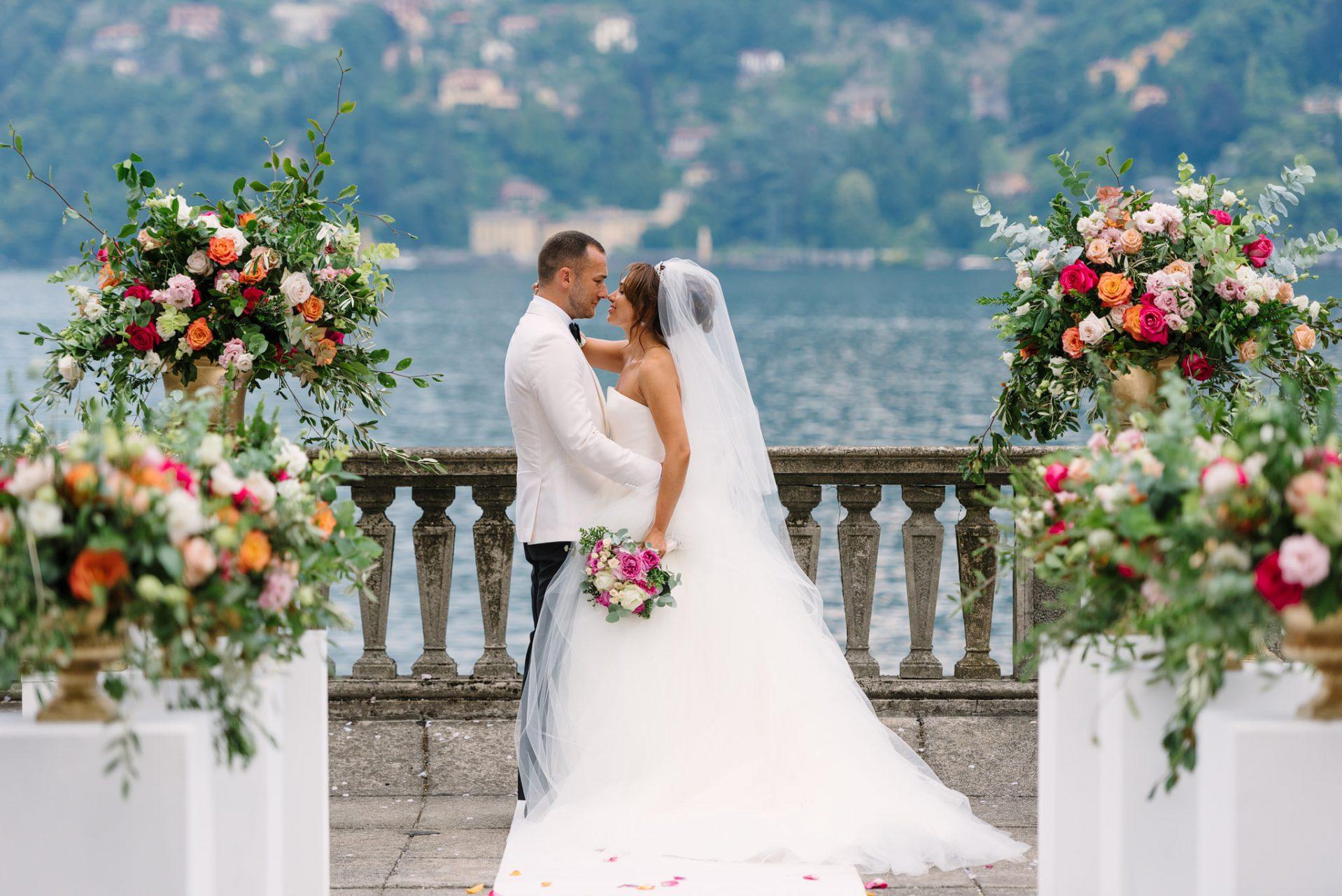 Villa Pizzo Lake Como Destination Wedding