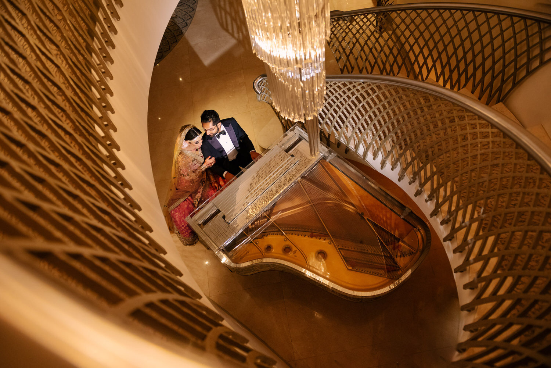 Female Asian wedding photographer London
