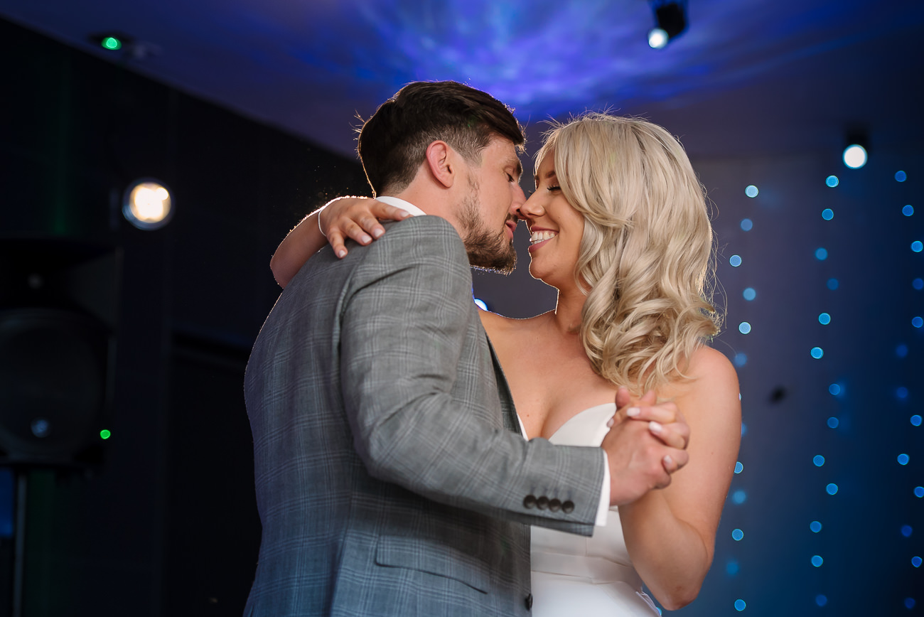 Bride and groom first dance at Russets Country House