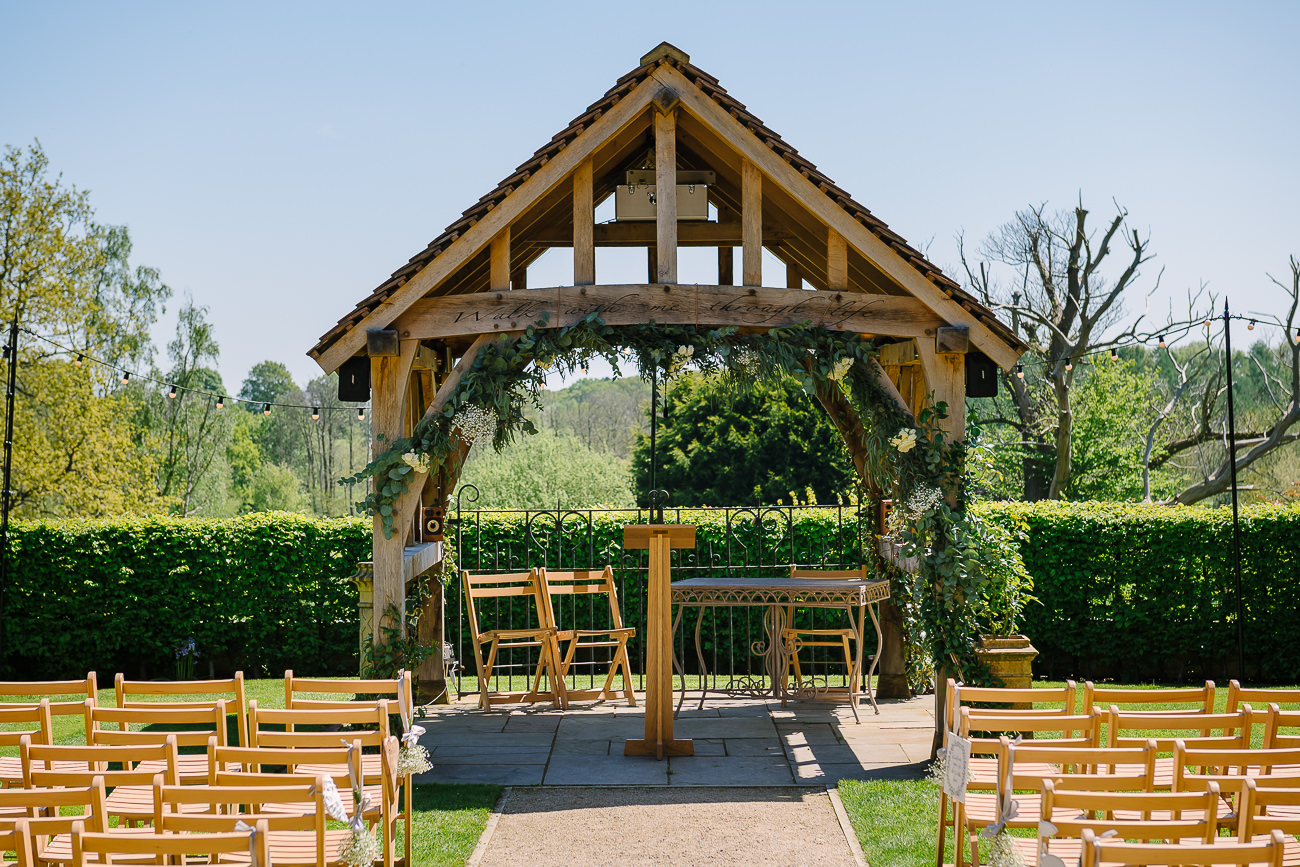 Russets Country House location ceremony