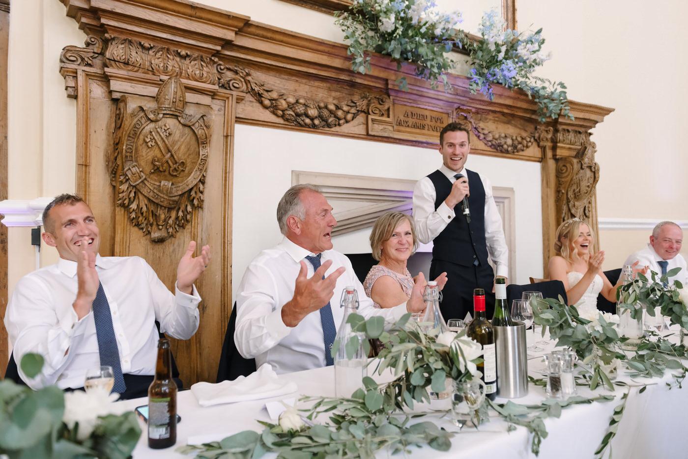 Wedding photography Farnham Castle