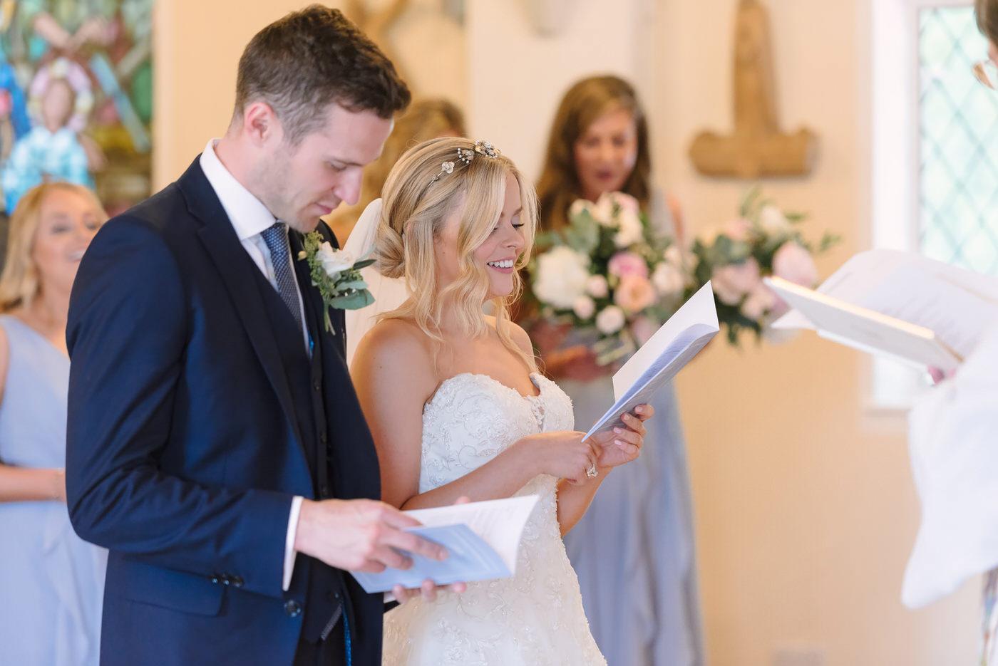 Farnham church wedding
