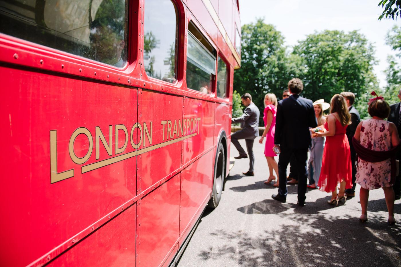 Red Bus Farnham Castle