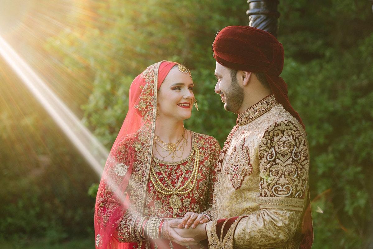 Asian Muslim wedding photography at Tournerbury Woods