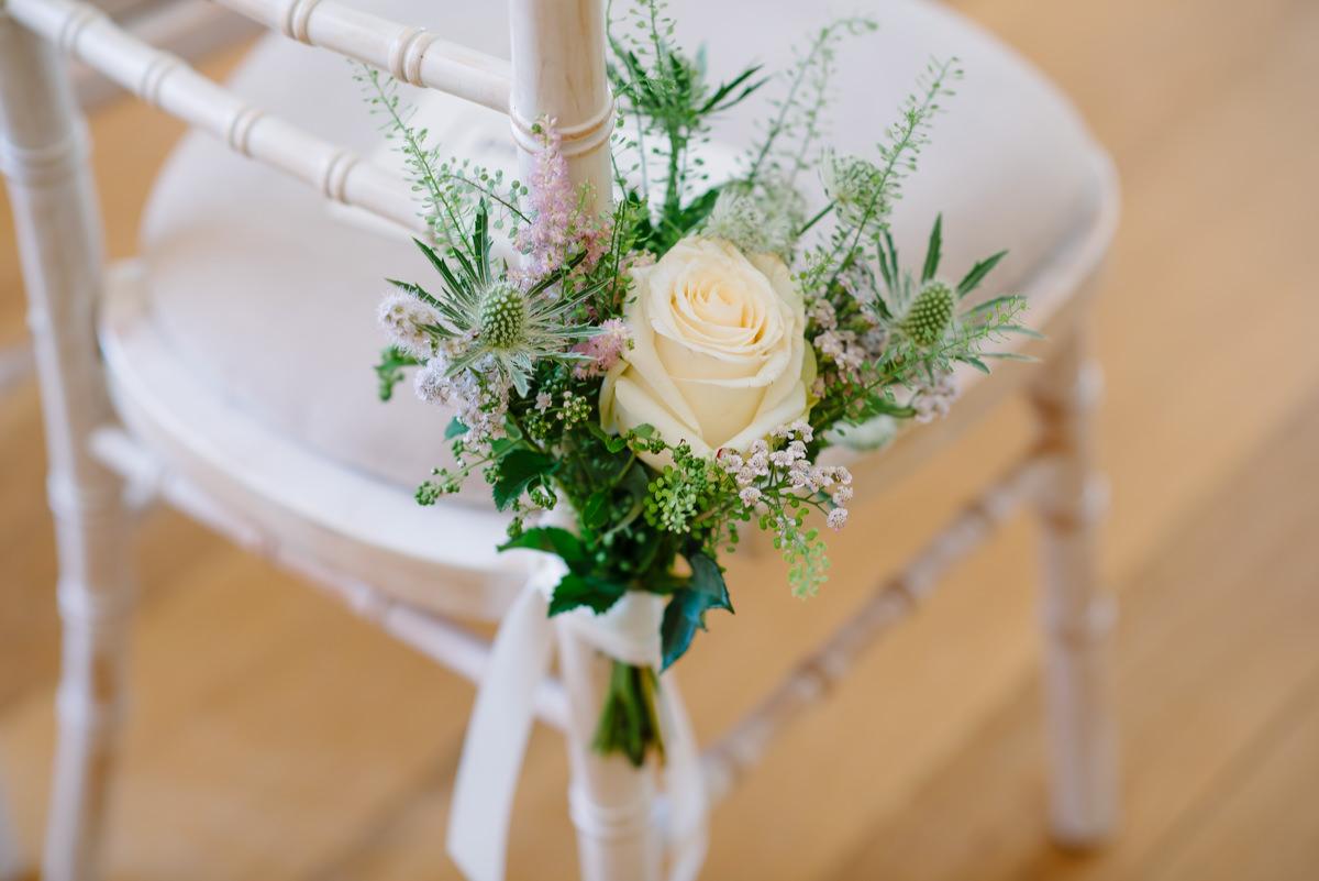 Wedding decorations Pembroke Lodge Richmond Park