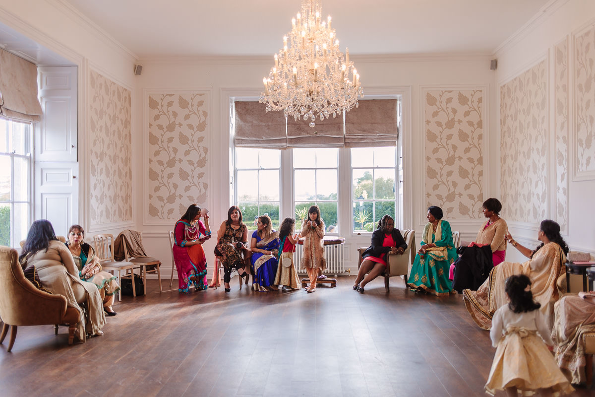 Surrey Froyle Park Asian Wedding Photography Guests