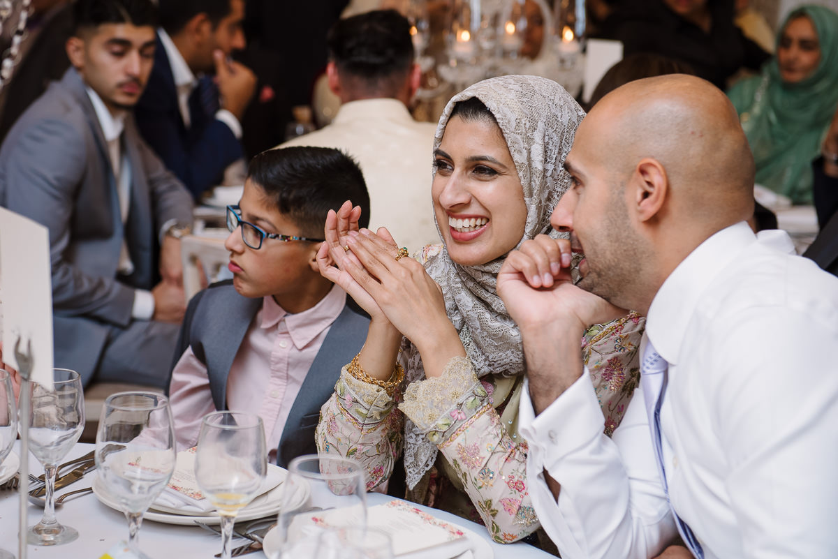 Muslim wedding at Froyle Park in Hampshire