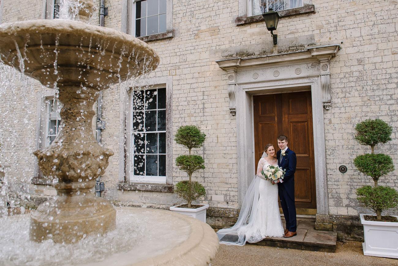 Wedding photography Froyle Park - couple portrait