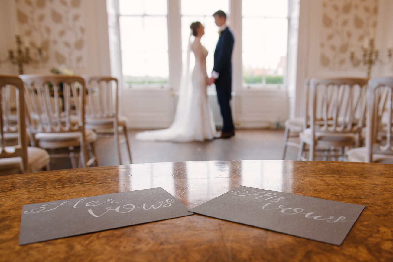 Wedding Photography Bride and Groom Vows