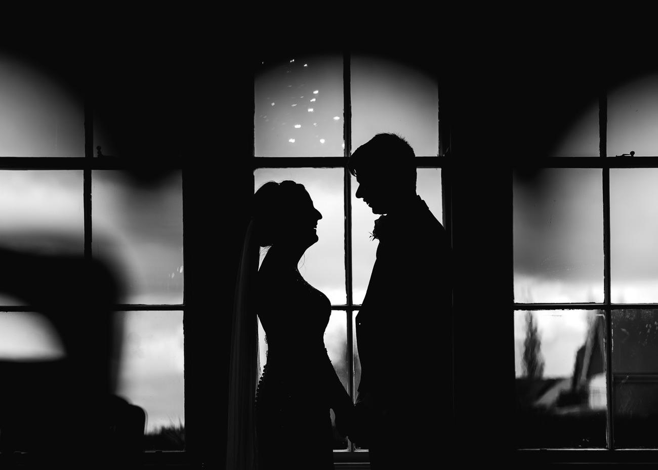 Bride and Groom Portrait - Froyle Park wedding photography