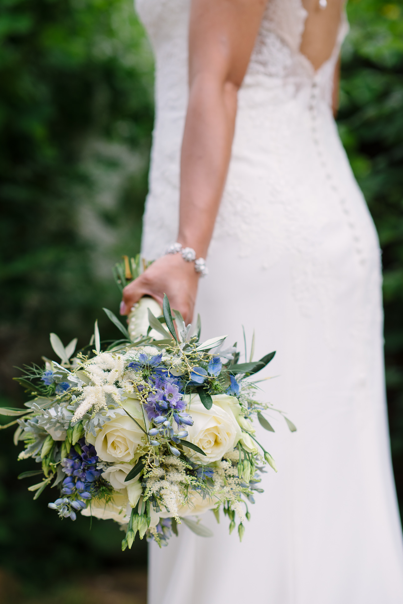 Bridal Flower Bouquet Rose & Mary London