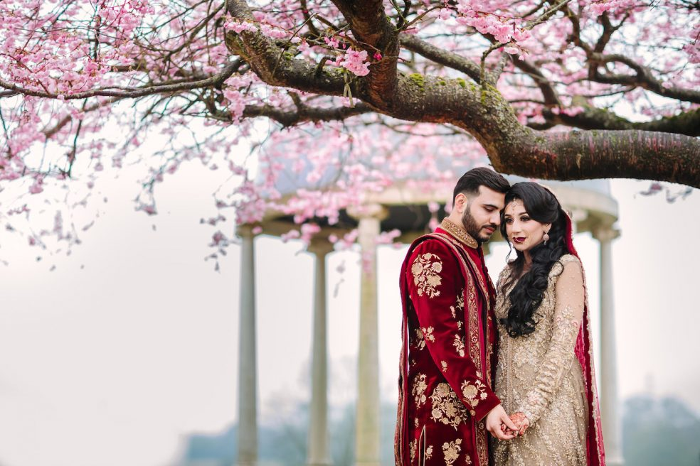 Froyle Park Asian Wedding Film – Cherry blossom