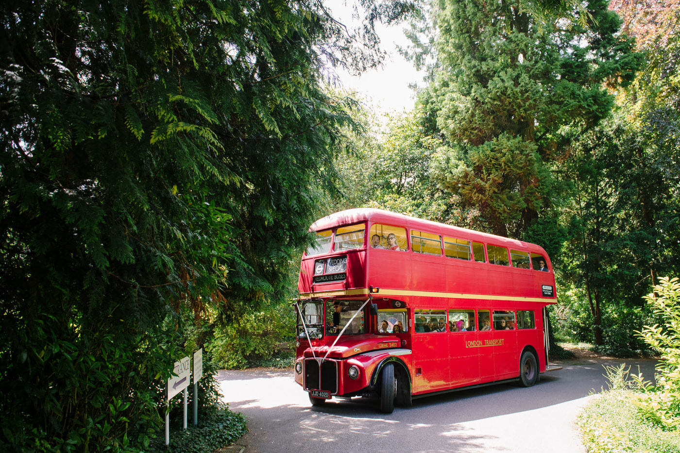 Red Bus Farnham Castle